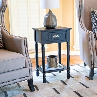 Link to Bailey Bead board 1-Drawer Accent Table Similar Items in Living Room Furniture