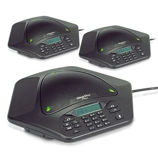 ClearOne MaxAttach 3-Phone System ClearOne MaxAttach Conference Phone + 2 Max EX Expansion Kits