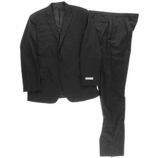 Michael Kors Mens Two-Button Suit Wool 2PC
