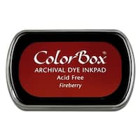 ColorBox Archival Dye Ink Pad Full Sz Fireberry