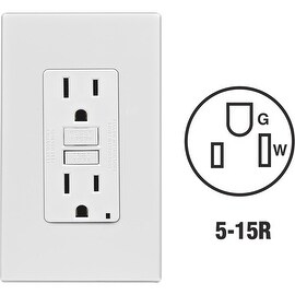 Leviton 15A Wh Slfts Gfci Outlet
