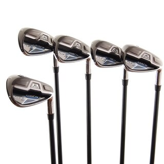 New Cobra Fly-Z XL Irons 7i-PW,GW Senior Flex 60g Graphite RH