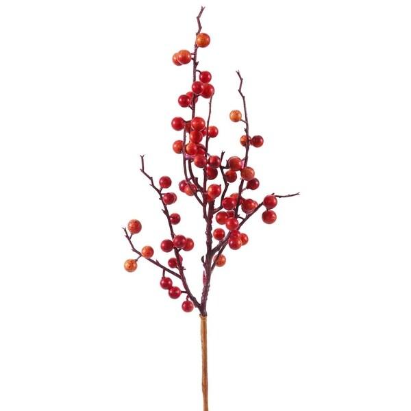 "18"" Vibrant Wild Fall Berry Artificial Decorative Christmas Pick"