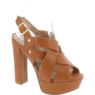 Qupid Women's Beat 02 Platform Sandals