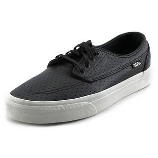 Vans Brigata + Round Toe Leather Skate Shoe