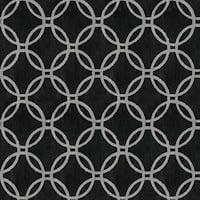 Brewster 2535-20637 Ecliptic Black Geometric Wallpaper