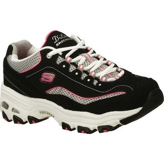 buy popular 792e6 6c54d Skechers Women s D Lites Centennial Black White