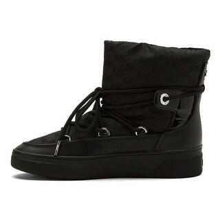 MICHAEL Michael Kors Womens Nala Faux Fur Closed Toe Ankle Fashion Boots
