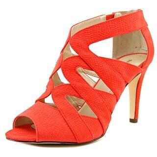 Style & Co Uliana Women Open Toe Synthetic Red Sandals