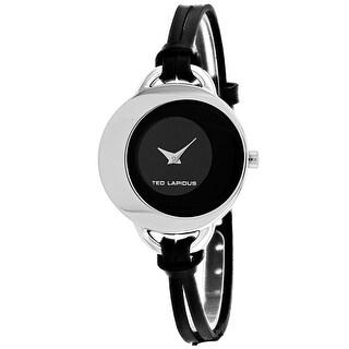 Ted Lapidus Women's Classic A0446RNNN Black Dial watch
