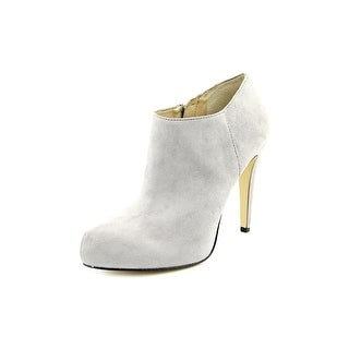 INC International Concepts Bellona Pointed Toe Suede Bootie