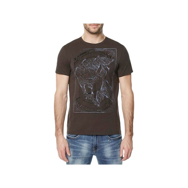 Shop Buffalo David Bitton Mens Graphic T Shirt Crew Neck