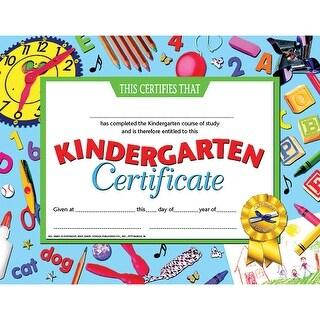 (6 Pk) Kindergarten Certificate