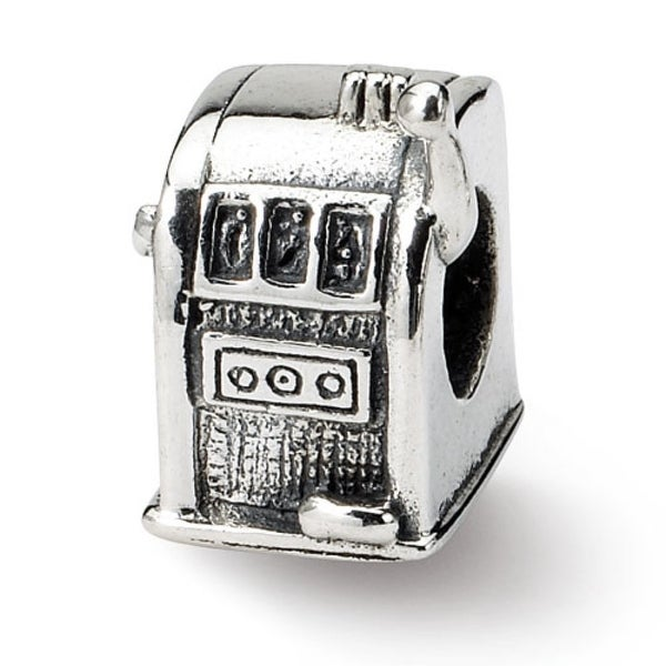 Sterling Silver Reflections Slot Machine Bead (4mm Diameter Hole)