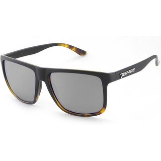 Peppers Polarized Sunglasses Dividened Black Fade To Tortoise with Smoke Lens
