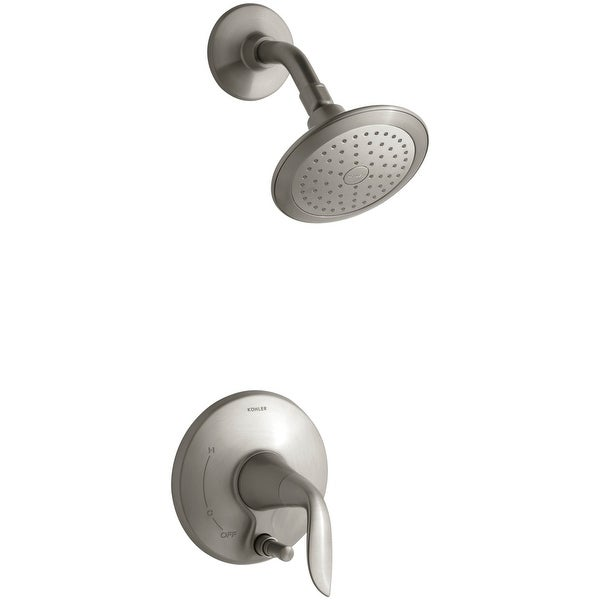 Kohler K-T5319-4E Refinia Single Handle Shower Valve Trim Only with Metal Lever Handle, and 2.0 GPM Single Function Shower Head
