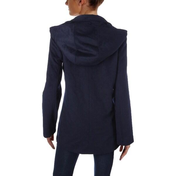 Lauren Ralph Lauren Womens Pea Coat Hooded Wool - M - Free ...
