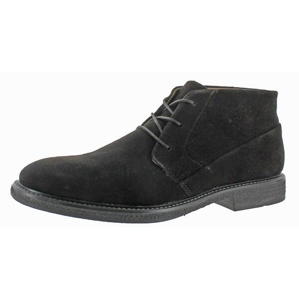 Calvin Klein Men's Phillip Suede Chukka Boots Shoe