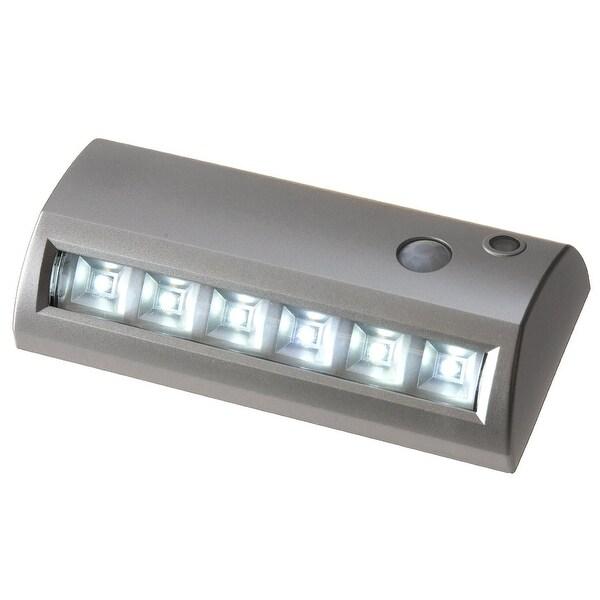 Fulcrum 20032-301 6-LED Motion Sensor Weatherproof Light, Silver