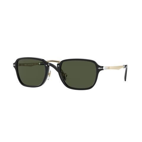 Persol PO3247S 95/31 51 Black Man Rectangle Sunglasses