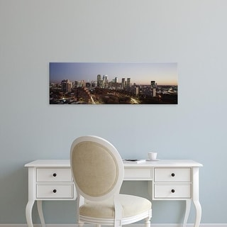 Easy Art Prints Panoramic Images's 'High angle view of a city, Philadelphia, Pennsylvania, USA' Premium Canvas Art