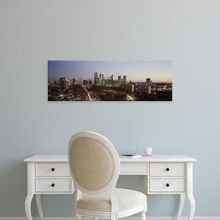 Easy Art Prints Panoramic Images's 'High angle view of a city, Philadelphia, Pennsylvania, USA' Premium Canvas Art