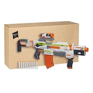 Nerf N-Strike Modulus ECS-10 NERF BLASTER, Motorized Blasting Kids Toy NERF GUN