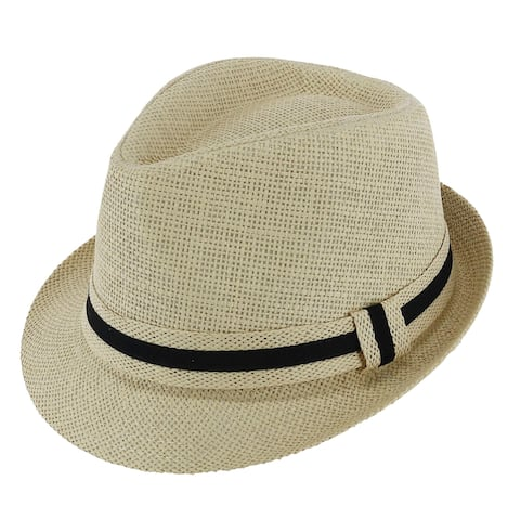 bf43a802d98e1 Buy Fedora Men's Hats Online at Overstock | Our Best Hats Deals