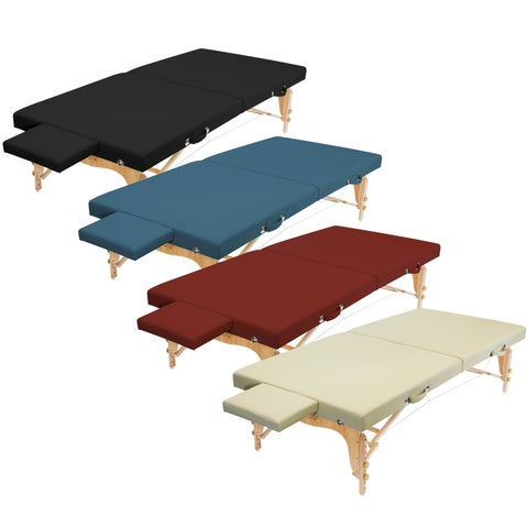 Portable Physical Therapy Massage Table - Stretching Treatment - Multiple Colors