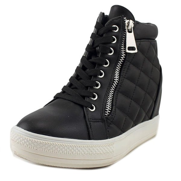 Wanted Motive Women Synthetic Black Fashion Sneakers
