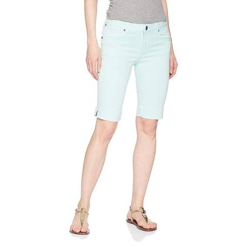 KUT from the Kloth Womens Shorts Teal Blue Size 10 Bermuda Walking