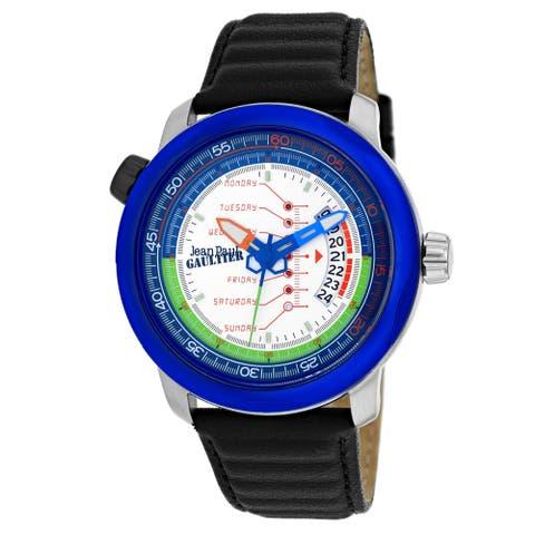 Jean Paul Gaultier Men's Cockpit White Dial Watch - 8504902 - One Size