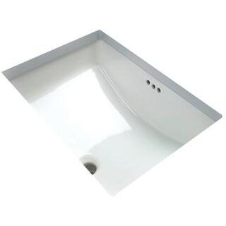 "Miseno MNO2114RU 20-7/8"" Undermount Bathroom Sink with Overflow"