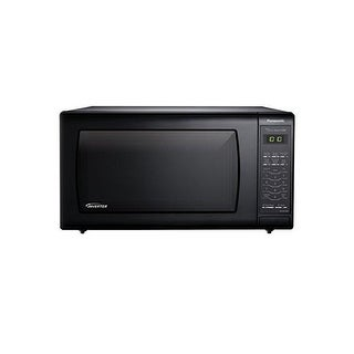 Panasonic NN-SN736B 1.6 Cu. Ft. 1250W Genius Sensor Countertop Microwave Oven with Inverter Technolo - Black