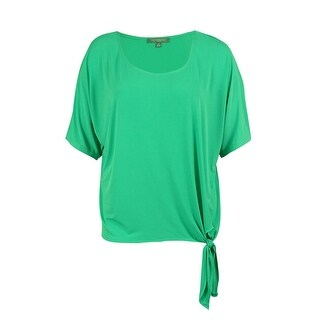 NY Collection Women's Side Tie Top - 3x