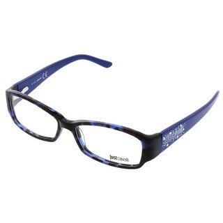 Just Cavalli JC0456/V 055 Indigo Rectangle Optical Frames - 53-14-135