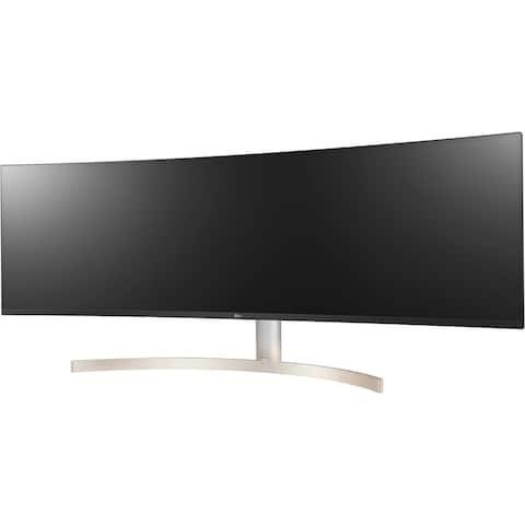 "LG 49BL95C-W 5120 x 1440 49"" Curved IPS Monitor,White - White"