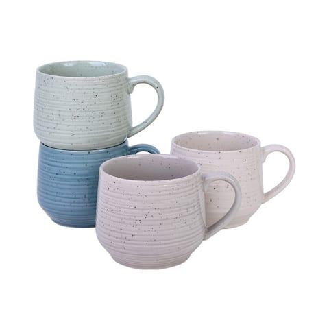 Sango Siterra Artist's Blend Set Of 4 Mugs