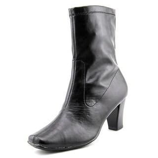Aerosoles Geneva Women  Round Toe Synthetic Black Ankle Boot