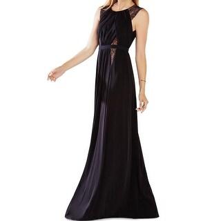 BCBGMaxAzria NEW Black Women's Size 2XS Empire Waist Maxi Dress