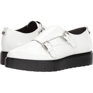 Calvin Klein Womens Vespera Low Top Buckle Fashion Sneakers