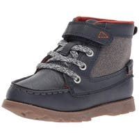 Carter's Boys bradford Ankle   Fashion Boots, navy, Size 9 M US Toddler - 9 m us toddler