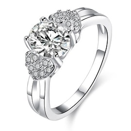 Petite Crystal Stone Crystal Lined Ring