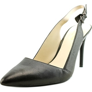 Kenneth Cole NY Pipa   Pointed Toe Leather  Heels