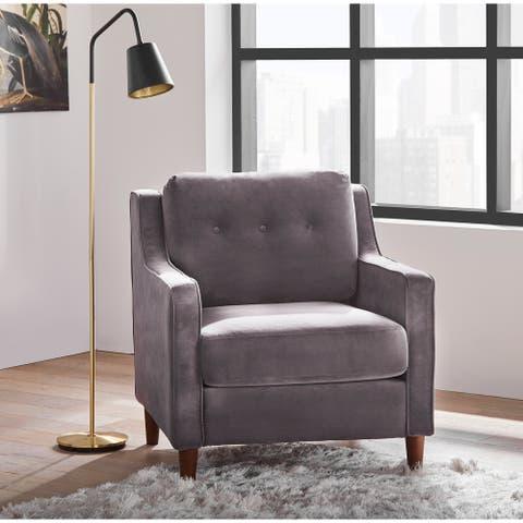 Lifestorey Retro Loose Back Living Room Chair