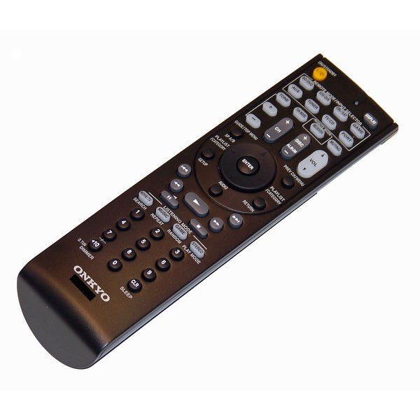OEM Onkyo Remote Control Originally Shipped With: HTR390, HT-R390, HTR538, HT-R538, HTRC230, HT-RC230