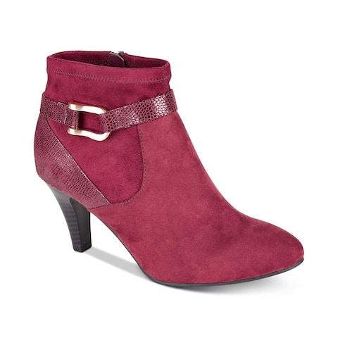 89fcc74bb78b Karen Scott Womens maxinee Closed Toe Ankle Fashion Boots