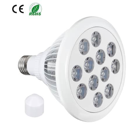 LED Grow Light Bulb 24W E27 9 Red + 3 Blue LEDs AC 85-265V for Indoor Plants