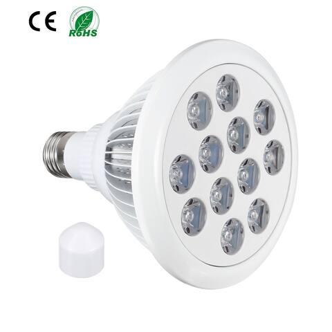 LED Grow Light Bulb 36W E27 9 Red + 3 Blue LEDs AC 85-265V for Indoor Plants