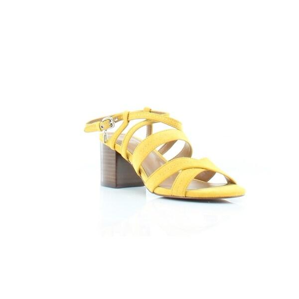 Coach Terri Women's Sandals & Flip Flops Yellow - 6.5